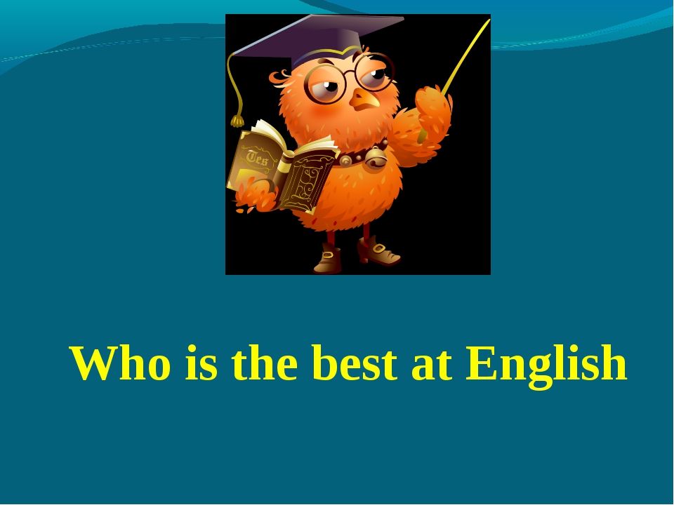 Who is the best at English