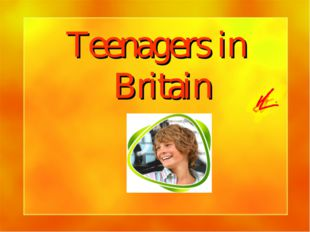 Teenagers in Britain