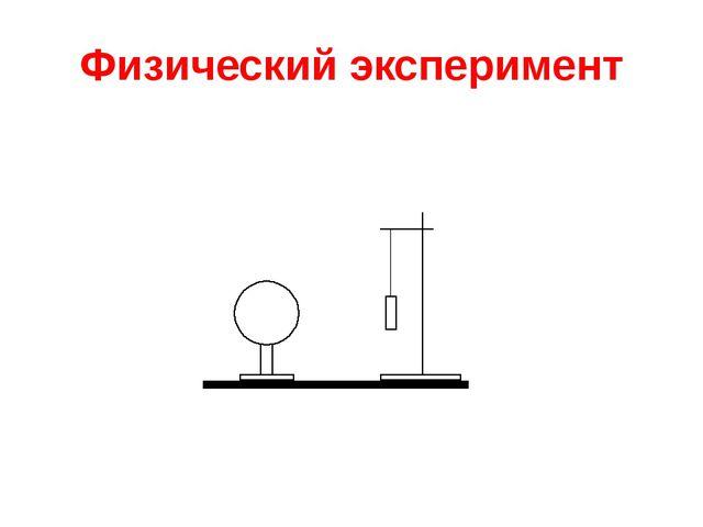 Физический эксперимент