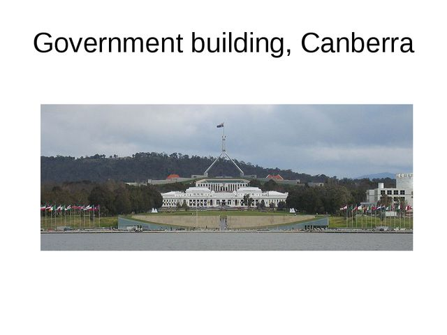 Government building, Canberra