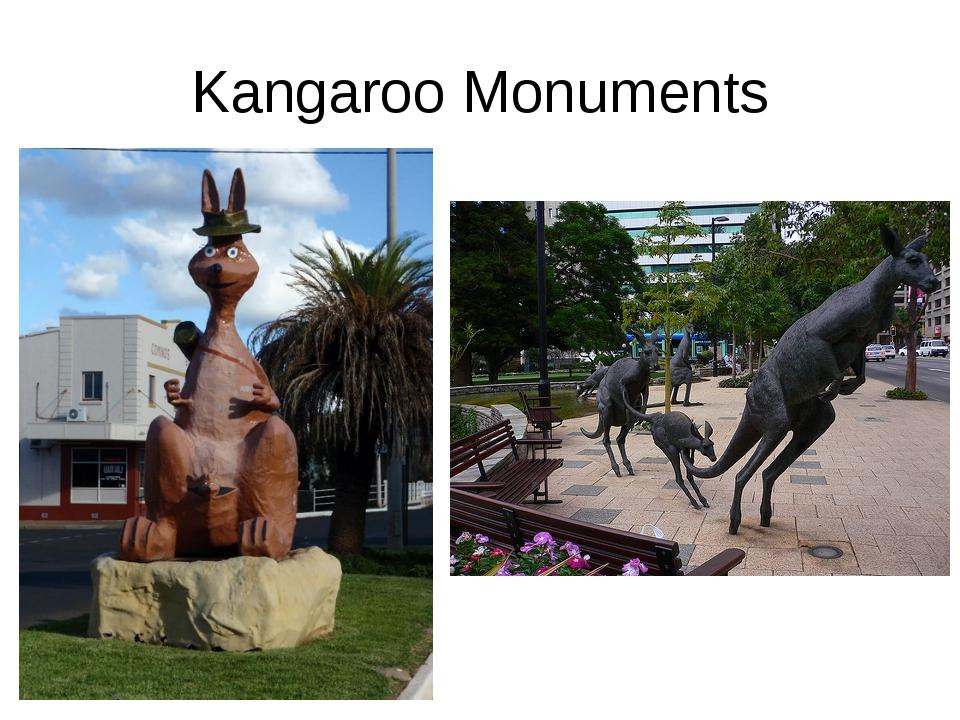 Kangaroo Monuments
