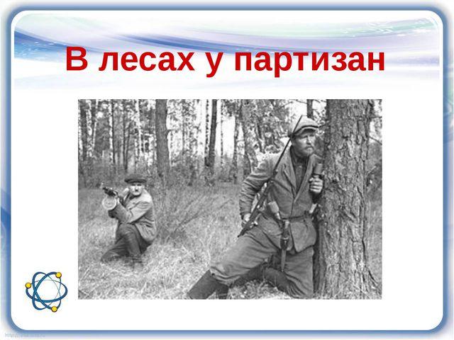 В лесах у партизан