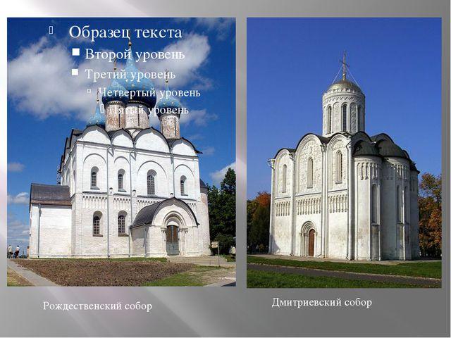 Рождественский собор Дмитриевский собор