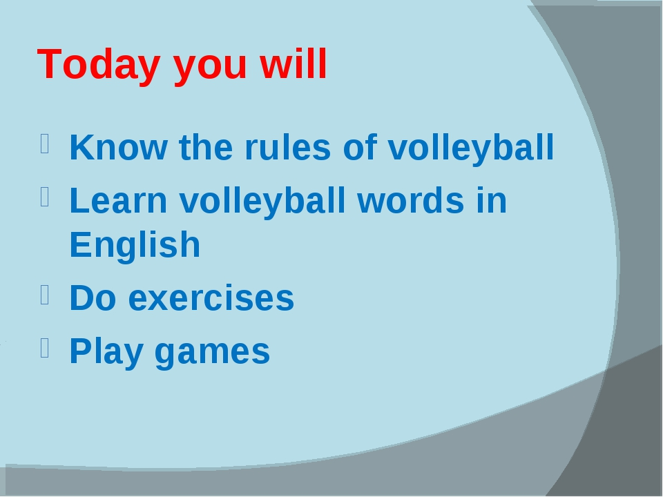 Today you will Know the rules of volleyball Learn volleyball words in English...