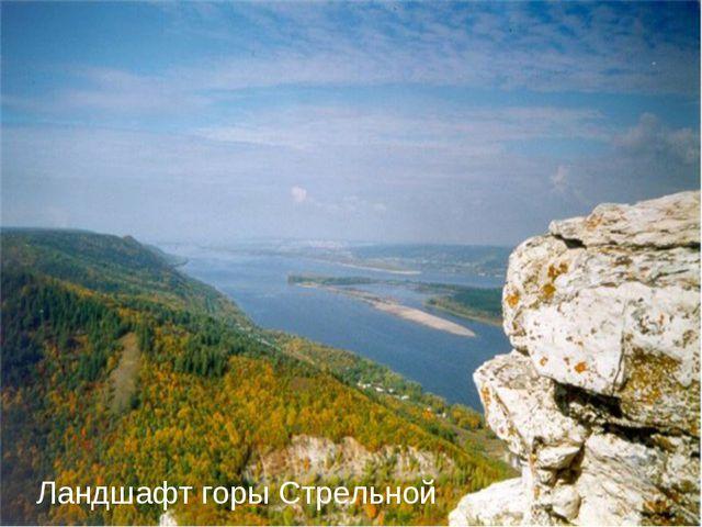 Ландшафт горы Стрельной