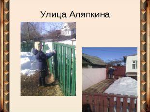 Улица Аляпкина