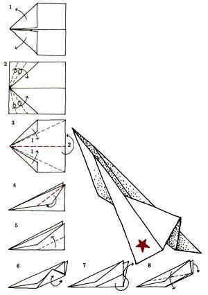 Как сделать быстрый самолет из бумаги