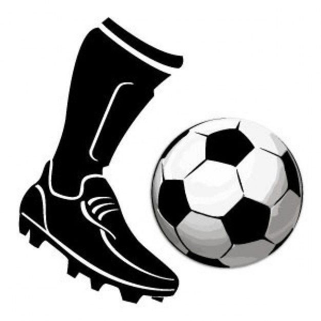 Soccer Boot Kicking Ball Xpx Football Picture