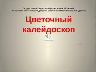 Государственное бюджетное образовательное учреждение «Актюбинская школа-интер
