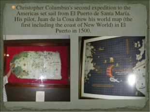 Christopher Columbus's second expedition to the Americas set sail from El Pue