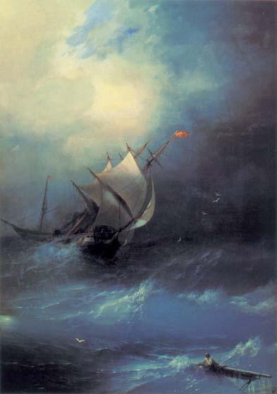 Буря на Ледовитом океане (Айвазовский Иван)