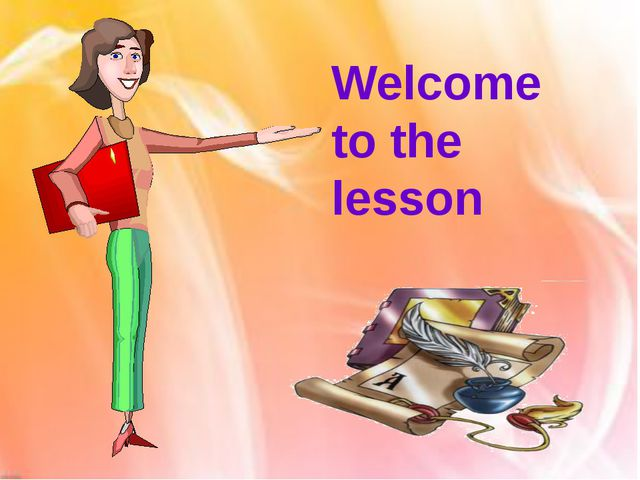 Welcome to the lesson