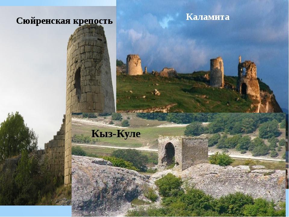 Сюйренская крепость Каламита Кыз-Куле