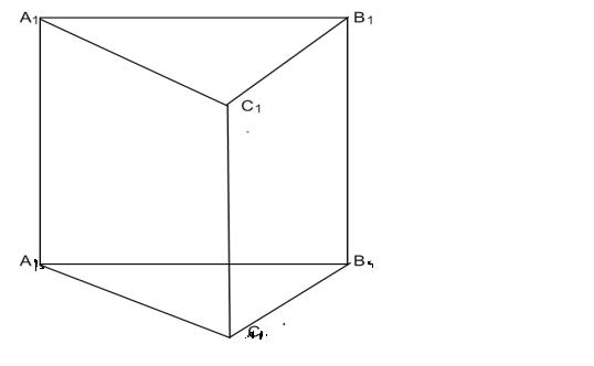Призма треугольн