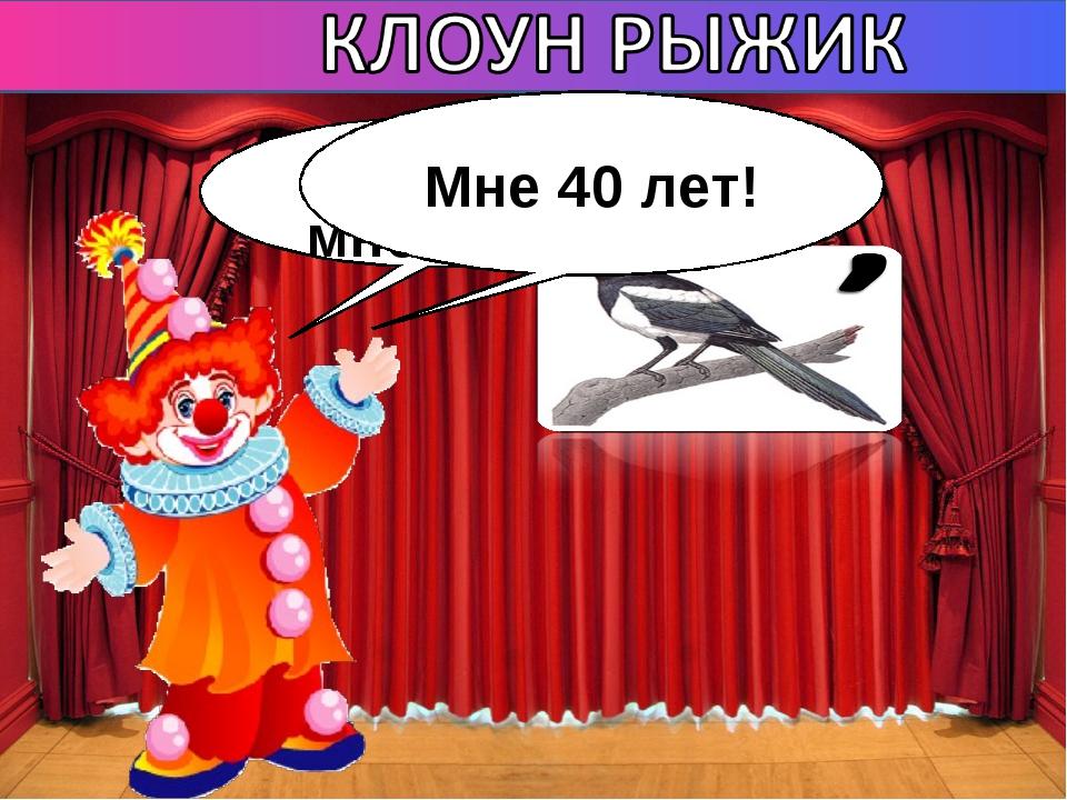 Мне 40 лет!