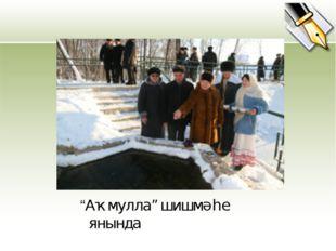 """""""Аҡмулла"""" шишмәһе янында"""