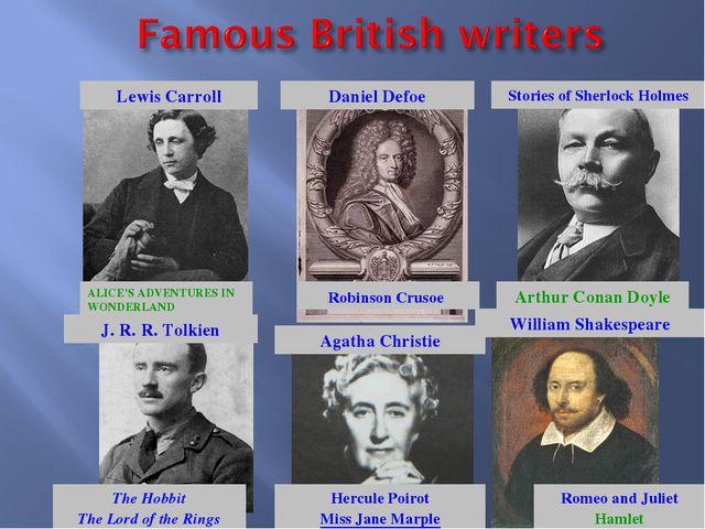 ALICE'S ADVENTURES IN WONDERLAND Lewis Carroll Daniel Defoe Robinson Crusoe...
