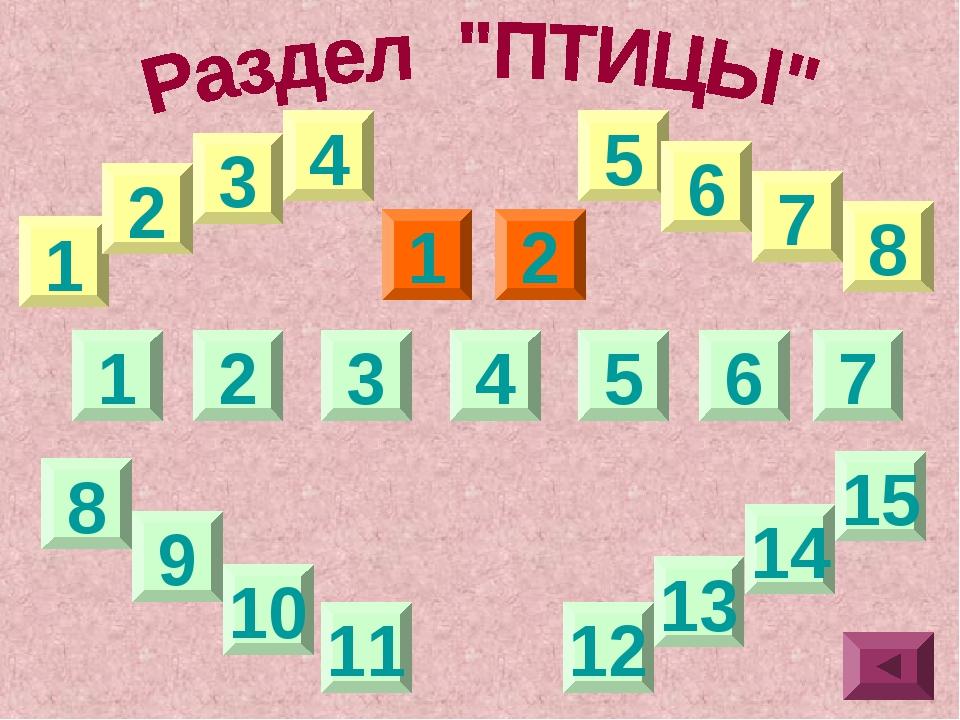4 1 1 5 6 7 8 9 13 14 2 3 4 5 6 2 15 12 10 11 7 8 3 1 2