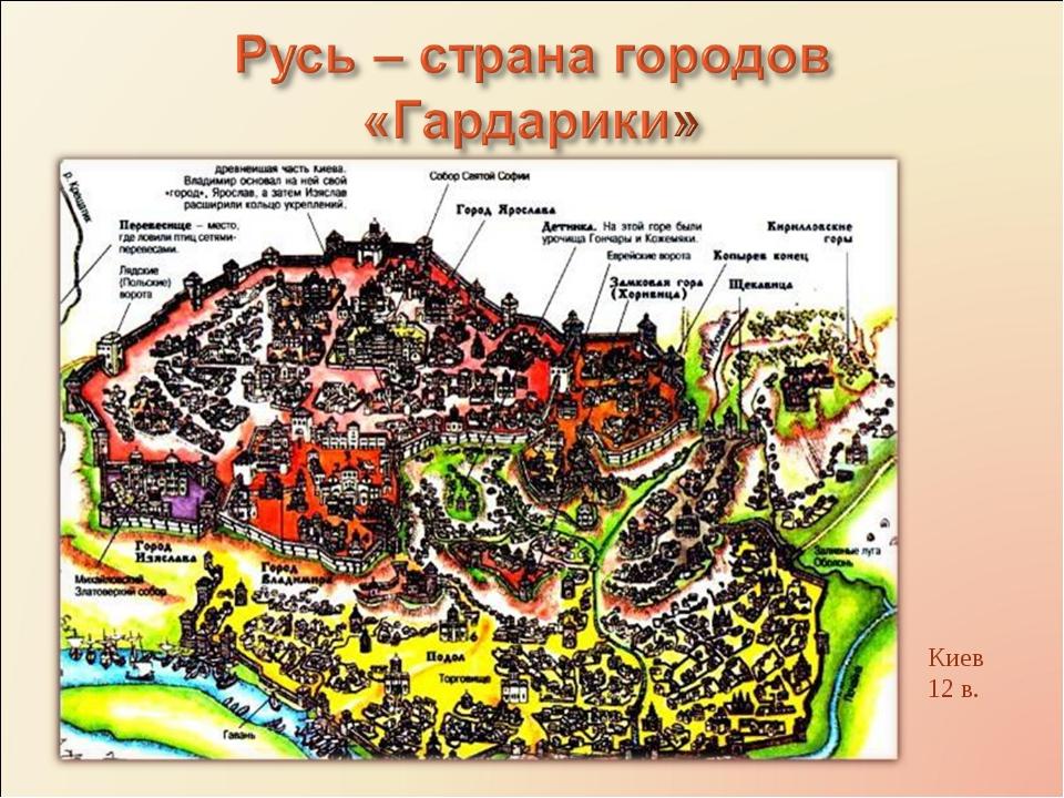Киев 12 в.