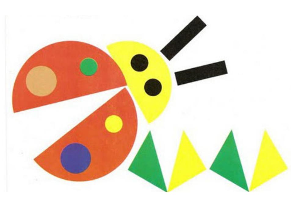 Поделка из геометрических фигур
