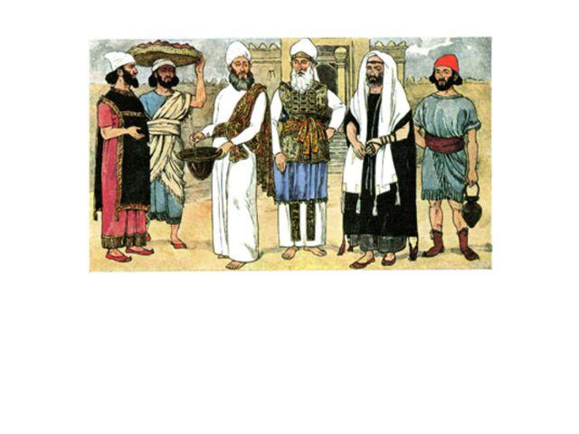 Во главе еврейских племен стояли старейшины. Они хранили в памяти предания о...