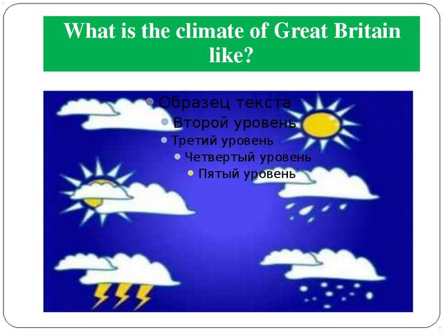 What is the climate of Great Britain like?