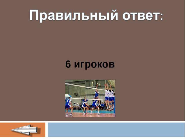 6 игроков
