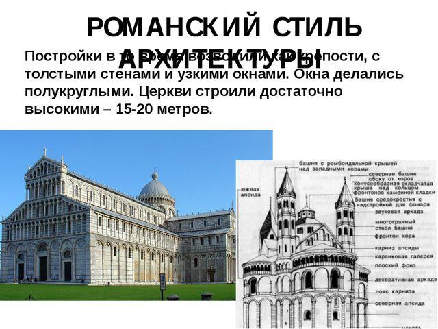 Постройки в то время возводили как крепости, с толстыми стенами и узкими окн...