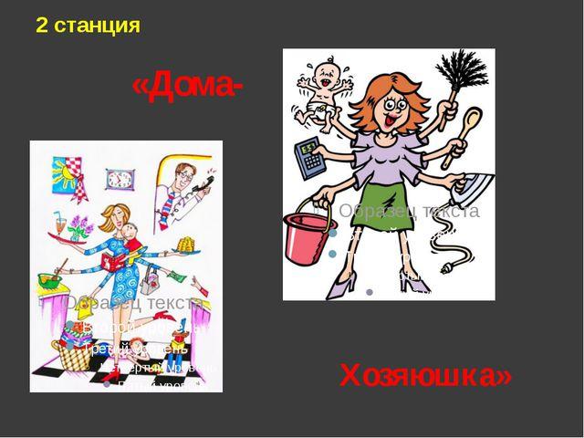 «Дома- 2 станция Хозяюшка»