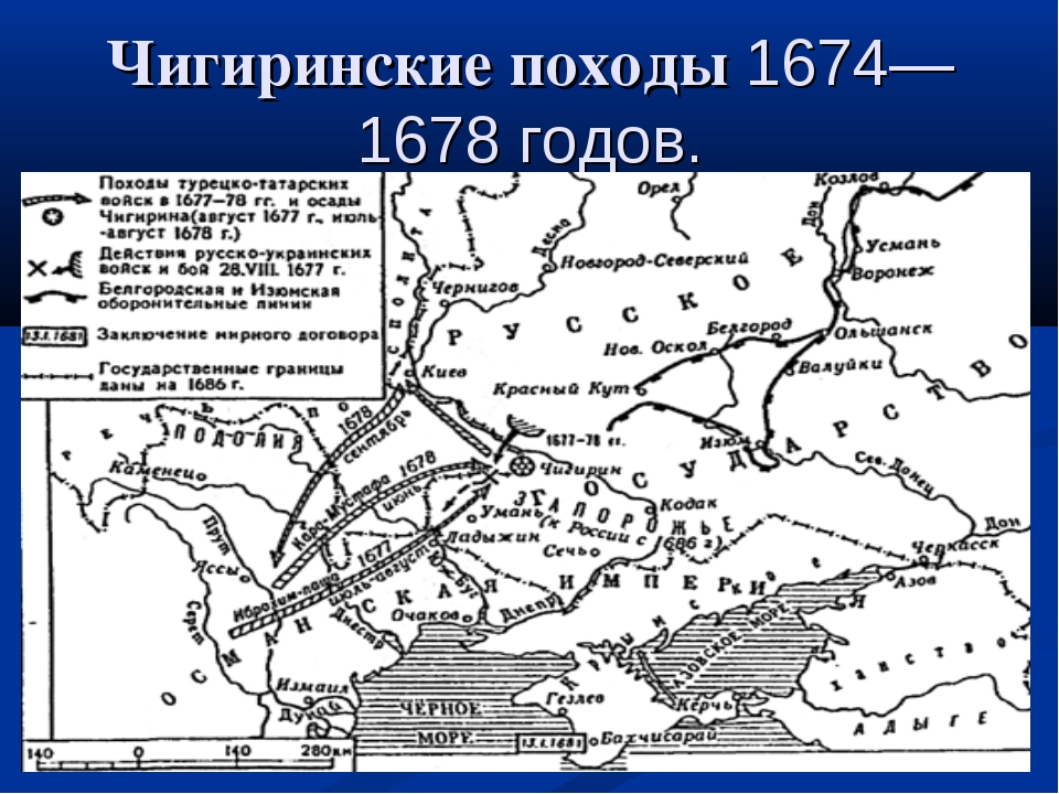 Чигиринские походы 1674—1678 годов.