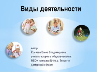 Автор: Коняева Елена Владимировна, учитель истории и обществознания МБОУ гимн