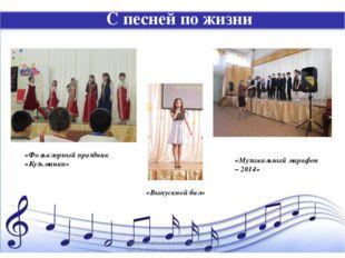 С песней по жизни «Музыкальный марафон – 2014» «Фольклорный праздник «Кузьмин