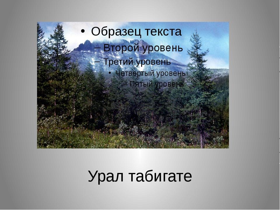 Урал табигате