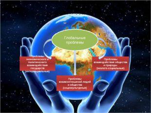 Классификация глобальных проблем Глобальные проблемы Проблемы экономического