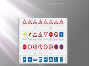 А теперь, давай попробуем запомнить несколько дорожных знаков!
