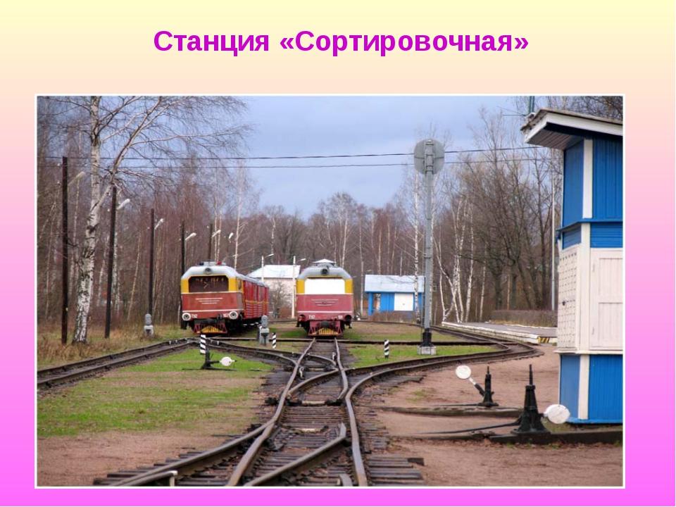 Станция «Сортировочная»