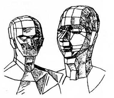 А. Дюрер - Обрубовка головы