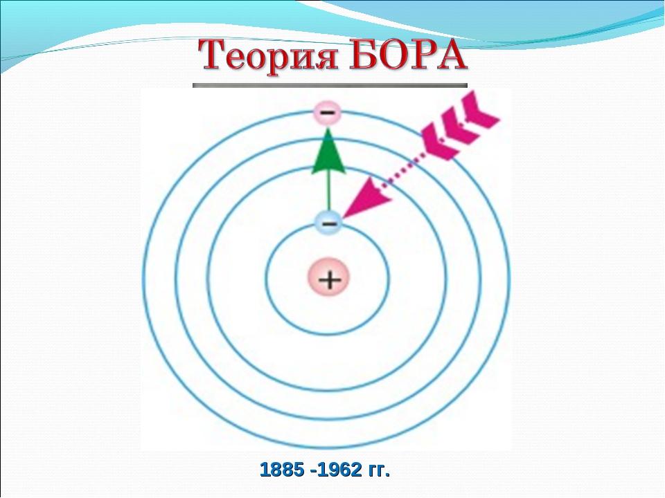 1885 -1962 гг.
