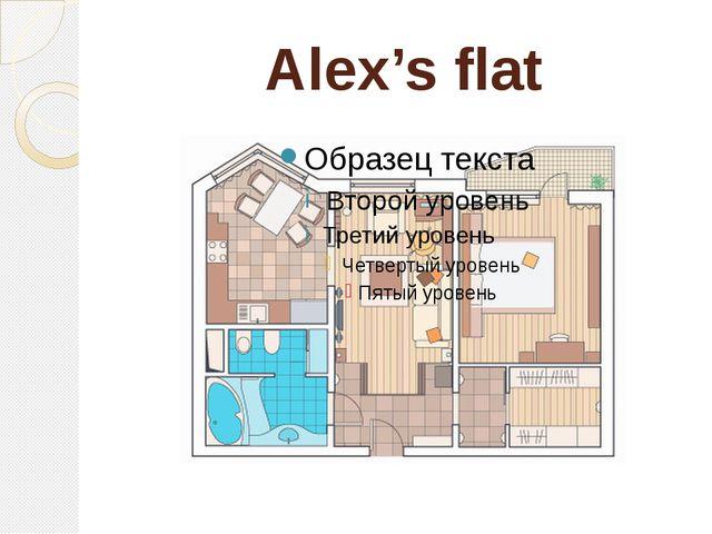 Alex's flat