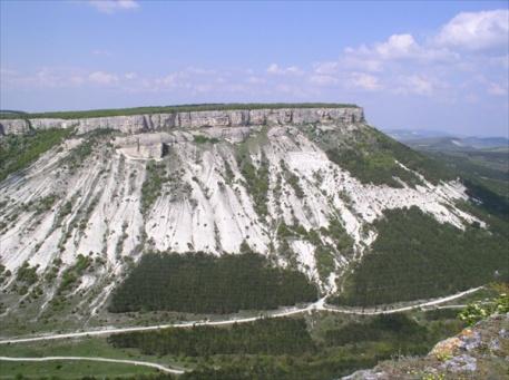 столовые горы - фото в альбоме Крым, весна 2004 ком, Славин
