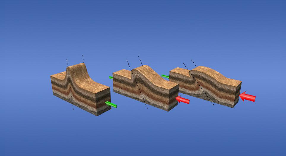 Складчатость (средний уровень) - 3D-анимации - MOZAIK Digita…