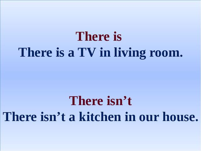 There is There is a TV in living room. There isn't There isn't a kitchen in o...