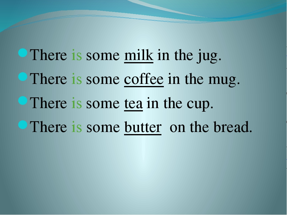 There is some milk in the jug. There is some coffee in the mug. There is some...