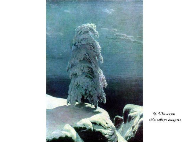 И. Шишкин «На севере диком»