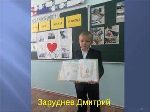 * Заруднев Дмитрий