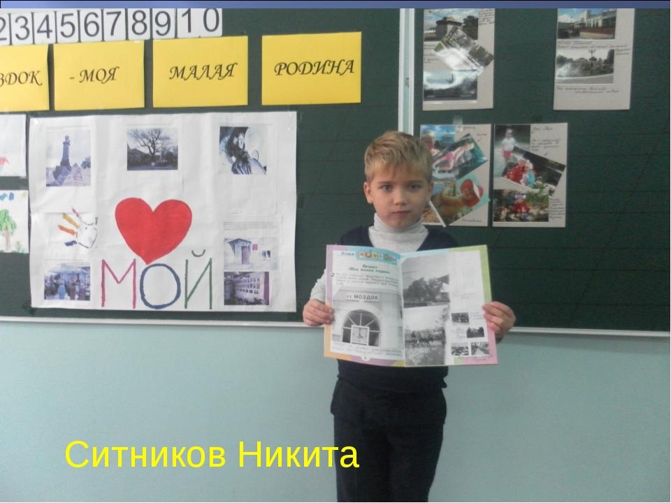 * Ситников Никита