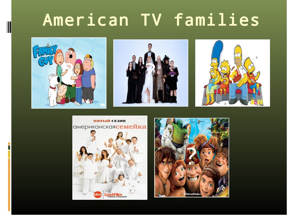 American TV families