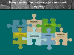 Основные направления воспитательной работы « Гражданско- патриотическое Нравс