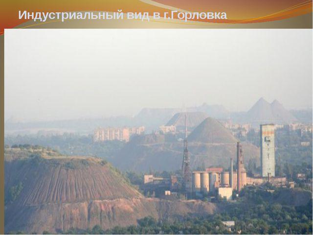 Индустриальный вид в г.Горловка