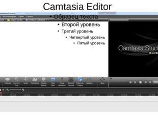Camtasia Editor